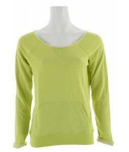Volcom Moclov Crew Sweater Acid Lime