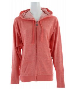 Volcom Moclov Stoner Zip Hoodie Coral Sorbet