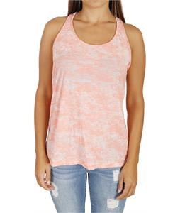 Volcom Moclov Twist Back Tank Top Watermelon Heather