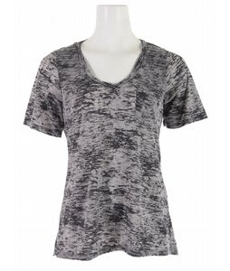 Volcom Moclove V-Neck Pocket T-Shirt Charcoal