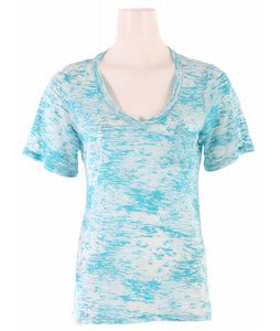 Volcom Moclove V-Neck Pocket T-Shirt Moonstone Teal