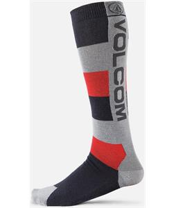Volcom Mod Stripe Socks Charcoal