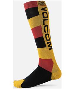 Volcom Mod Stripe Socks Rust