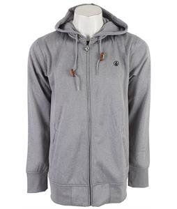Volcom Mod Zip Up Hoodie Heather Grey