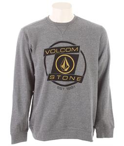 Volcom Morphing Crew Sweatshirt Heather Grey