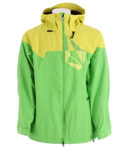 Volcom Multistone Snowboard Jacket Lime