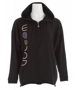 Volcom Multitated Mess Slacker Zip Hoodie Black