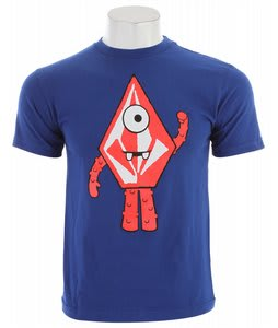 Volcom Muno Stone T-Shirt Bold Blue