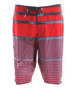 Volcom Nanolater Boardshorts Deep Red