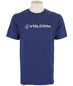 Volcom New Style T-Shirt Matured Blue