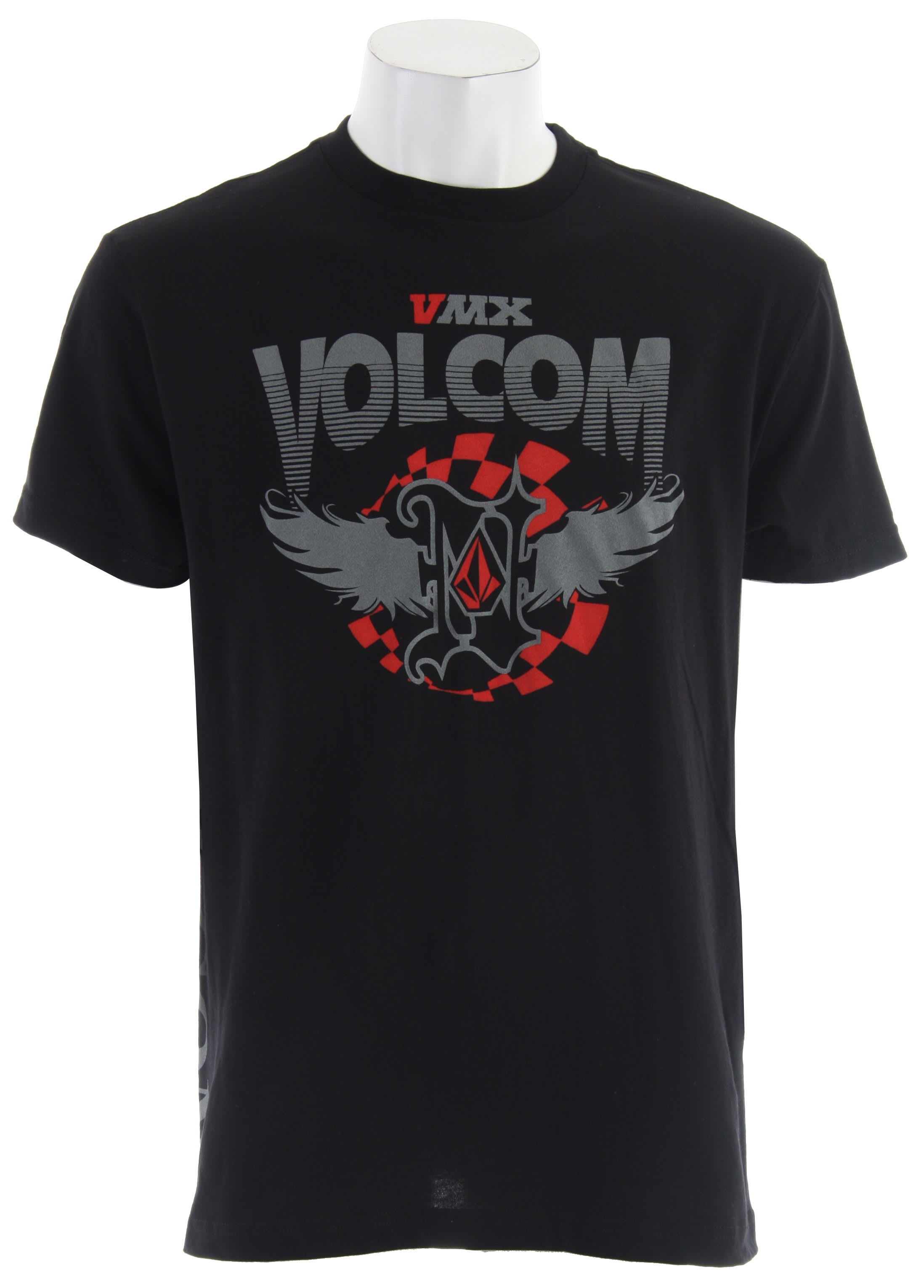 Shop for Volcom Nico T-Shirt Black - Men's
