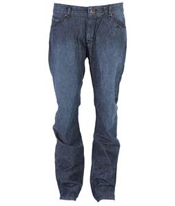 Volcom Nova Solver Jeans Lightweight Washed Blue