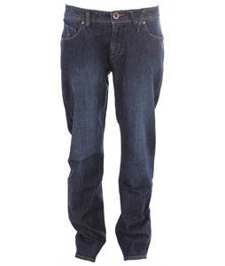 Volcom Nova Solver Jeans Washed Blue