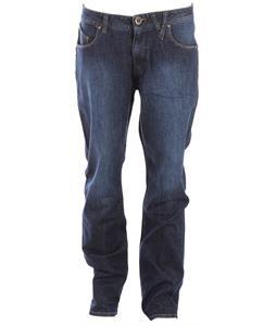 Volcom Nova Solver Jeans Washed Blue Indigo