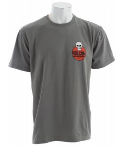 Volcom Novela T-Shirt Grey Vintage