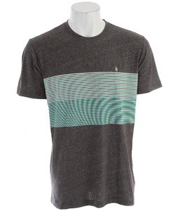 Volcom Nue Volca T-Shirt Heather Black