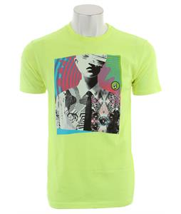 Volcom Ohsplats T-Shirt Yellow Flash
