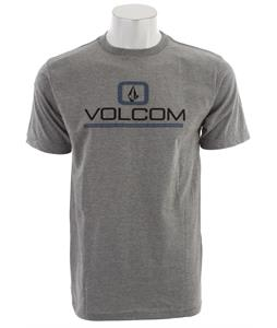 Volcom Oregon T-Shirt Heather Grey