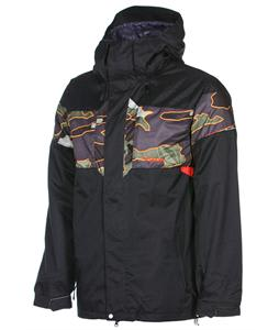 Volcom Over Snowboard Jacket Black