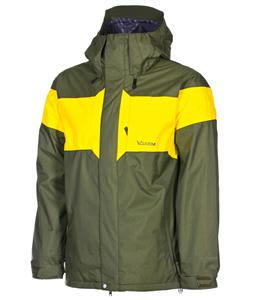 Volcom Over Snowboard Jacket Military