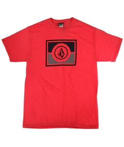 Volcom Partis T-Shirt Heather Red