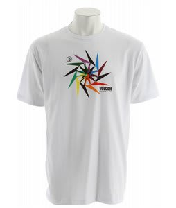 Volcom Pin Stone T-Shirt White