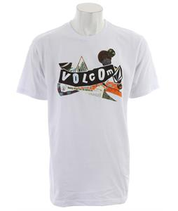 Volcom Pistol Refuge T-Shirt White