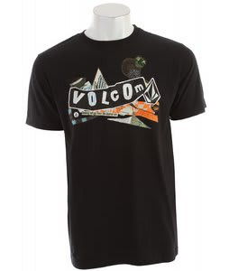 Volcom Pistol Refuge T-Shirt Black