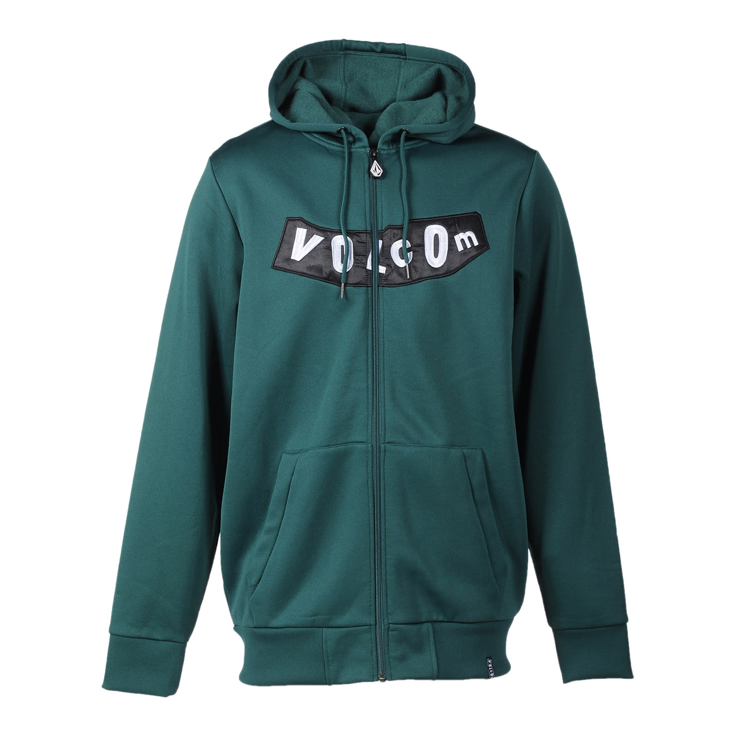 Shop for Volcom Pistol Hydro Fleece Hoodie Dark Green - Men's