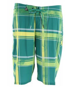 Volcom Plaiter Boardshorts Green/Yellow
