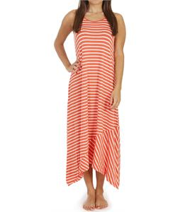 Volcom Play Along Tank Dress Coral Haze