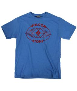 Volcom Poly Stone T-Shirt Royal Heather