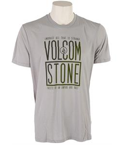 Volcom Post Popper T-Shirt Silver