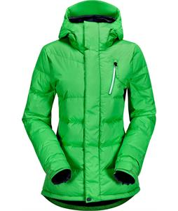 Volcom Powder Puff Down Snowboard Jacket Apple