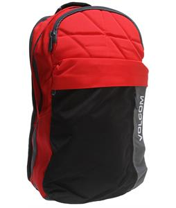 Volcom Prohibit Backpack Red Combo 23L