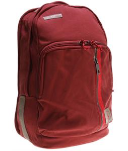 Volcom Prohibit Canvas Backpack Burgundy 22L