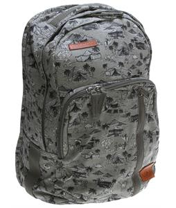 Volcom Prohibit Canvas Backpack Slate Grey 22L