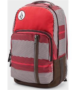 Volcom Prohibit Poly Backpack Burgundy 22L