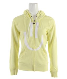 Volcom Psystonic Zip Hoodie Yellow Flash