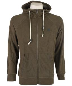 Volcom Pulli Basic Slim Zip Hoodie Fatigue Green