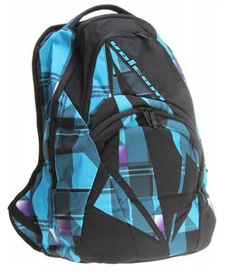 Volcom Purma Backpack Blue Plaid