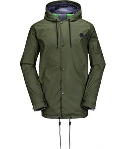 Volcom Quitter Snowboard Jacket Forest