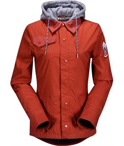 Volcom Quiver Insulated Snowboard Jacket Burnt Sienna