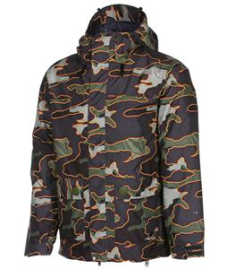 Volcom Radar Insulated Snowboard Jacket Military Camo