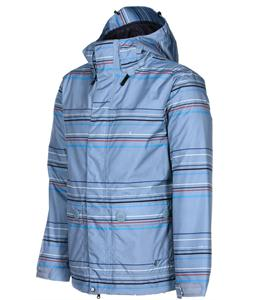 Volcom Radar Insulated Snowboard Jacket Silver Stripe
