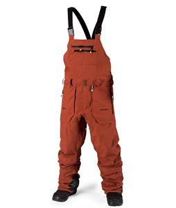 Volcom Rain Goretex Overall Snowboard Pants Rust