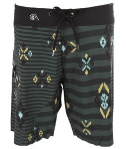 Volcom Rando Mod Boardshorts Jungle Green