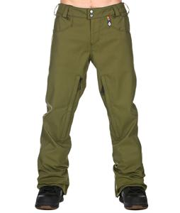 Volcom Reactor Tight Snowboard Pants Military