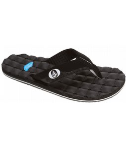 Volcom Recliner Creedlers Sandals Black