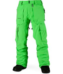 Volcom Revert Snowboard Pants Electric Green